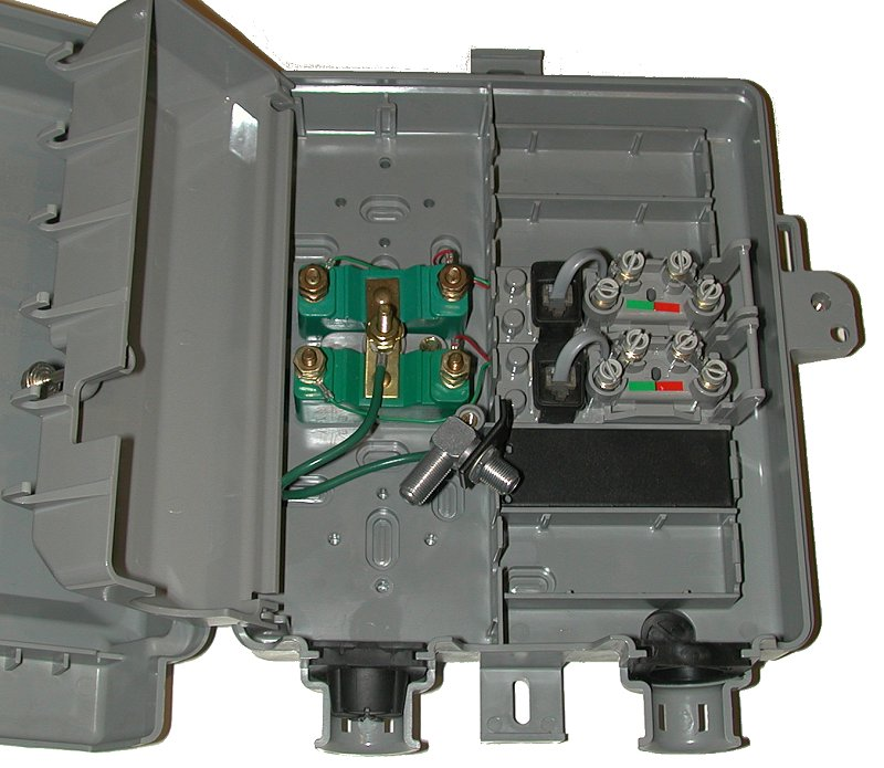 residential telephone wiring basicsnice detailed view of a demarc