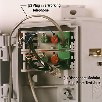 residential telephone wiring basics a fairly modern box